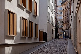 Passage de la Brie, Paris <br />Explorations Architectures