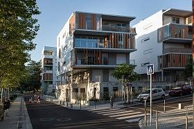 Maisons-Plateaux, La Duchere, Lyon<br />Petitdidier-Prioux Architectes