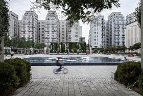 Place Lazare-Goujon, Villeurbanne (69)<br />Architectes : In Situ