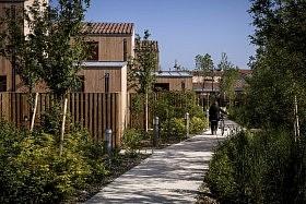 60 logements sociaux, Chanteloup-en-Brie <br /> Jean & Aline Harari + d'ici là paysagistes