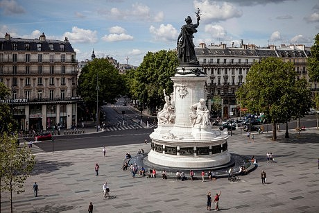 Place république paris