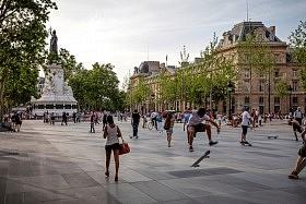 Place de la République, Paris <br />TVK architectes-urbanistes