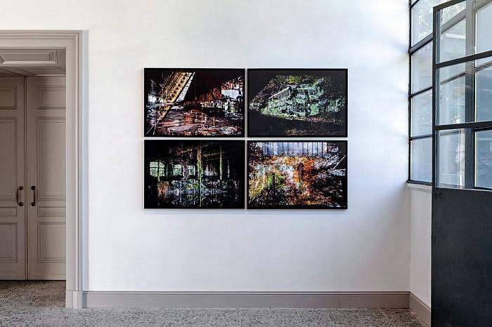 """Scénographie de l'exposition """"Les Forges, L'heure d'après, en Auvergne"""