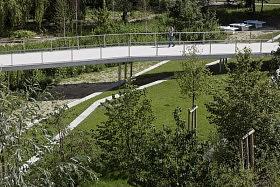 Jardin Argenté, Paris-Saclay (91)<br>D'ici là paysages & territoires