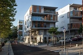 Maisons-Plateaux, La Duchere, Lyon<br>Petitdidier-Prioux Architectes