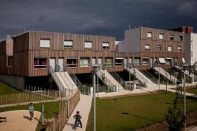 Logements sociaux,Valenton (94)<br>TVK architectes-urbanistes