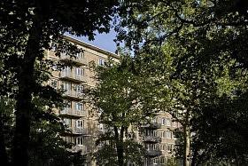 La Belle Endormie, Fontainebleau <br>Marcel Lods / Eliet & Lehmann architectes