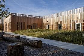 Maison du Lac de Grand-Lieu, Bouaye (44) <br>Atelier Philippe Madec