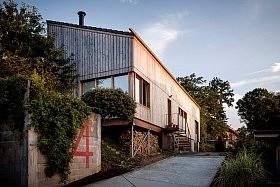 Maison bois + atelier, Limoges <br>Ladaa architectes